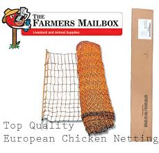 Poultry Netting Quality European Made Chicken Electric Fence Kit 50m X 112cm For Sale Online Ebay