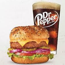 free beyond burger w any beverage
