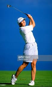 Myra Murray of Scotland in action during the Evian Masters at the... News  Photo - Getty Images