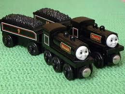 wooden railway brio train engine sets