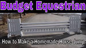 how to make a homemade horse jump you