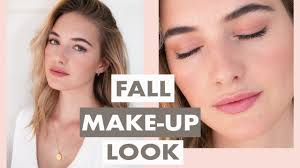 natural everyday fall makeup routine