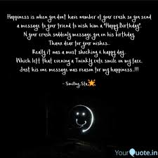 happiness is when you don quotes writings by ratika
