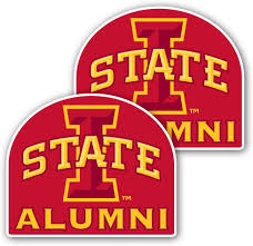 Amazon Com Iowa State University Window Decal Set Of 2 Alumni Office Products