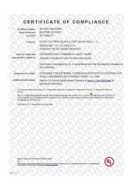 oil gas certificates extra co