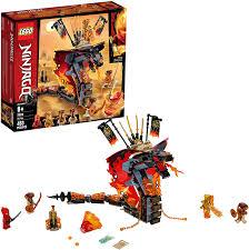 Amazon.com: LEGO NINJAGO Fire Fang 70674 Snake Action Toy Building ...