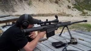 Barrett 50 cal - YouTube