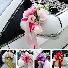 wedding centerpieces car door handle