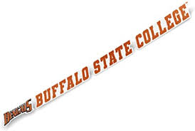 Amazon Com Buffalo State College Suny Bengals Ncaa Name Logo Vinyl Decal Laptop Water Bottle Car Scrapbook 15 Inch Sticker Sports Outdoors