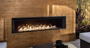 indoor outdoor natural fireplace