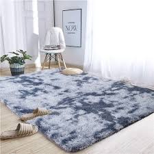 Amazon Com Noahas Abstract Shaggy Rug For Bedroom Ultra Soft Fluffy Carpets For Kids Nursery Teens Room Girls Boys Thick Accent Rugs Home Bedrooms Floor Decorative 4 Ft X 6 Ft Dark Blue
