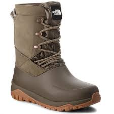 snow boots the north face yukiona mid