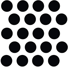 Amazon Com 210 2 Black Polka Dot Decals Removable Peel And Stick Circle Wall Decals For Nursery Kids Room Mirrors And Doors Home Kitchen