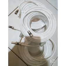 Dây cáp TV đồng trục 10 mét - 30 mét (bấm sẵn rắc) - Dùng để kết nối ang  ten hoặc chia tín hiệu truyền hình