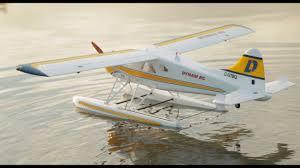 rc plane float design