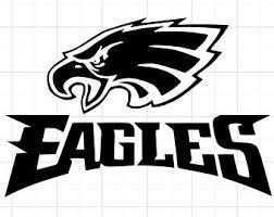 Eagles Car Decal Etsy