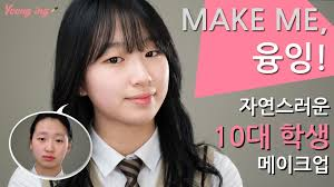 natural makeup korean tutorial