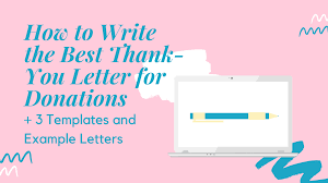 how to write the best thank you letter
