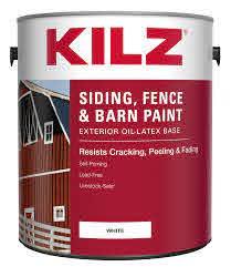Aubuchon Hardware Store Masterchem Kilz Siding Fence And Barn Paint White Gallon Siding Paint Exterior Paint Paint Paint Supplies