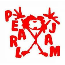 Pearl Jam Vinyl Sticker Custom Decals Vinyls Pro Sport Stickers Car Decals