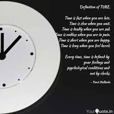 definition of time time quotes writings by punit mallanda