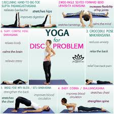 exercises for spinal disc problems لم