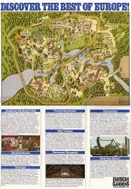 theme park brochures busch gardens