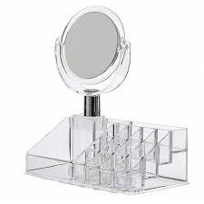 acrylic makeup organizer 16 slot with