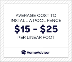 2020 Pool Fence Costs Glass Safety Fencing Prices Homeadvisor