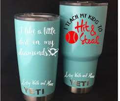 I Teach My Kids To Hit And Steal Baseball Yeti Cup Vinyl Decal Etsy Yeti Cup Decal Vinyls Cup Decal Mom Tumbler