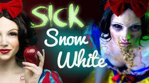 sick snow white makeup tutorial glam