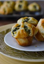 feta and spinach puff pastry appetizers