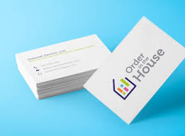Clean Business Cards, Order in the House by Dustin Owens on Dribbble