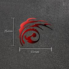 816027710 Fate Zero Fate Stay Night Anime 3d Metal Stickers Luxury Phone Laptop Sticker Fridge Car Decal Diy Toy Stickers Gift Toys Hobbies Classic Toys