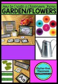 garden themed classroom ideas