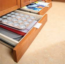 how to build under cabinet drawers