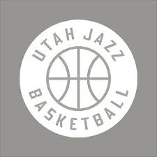 Utah Jazz 6 Nba Team Logo 1color Vinyl Decal Sticker Car Window Wall Ebay