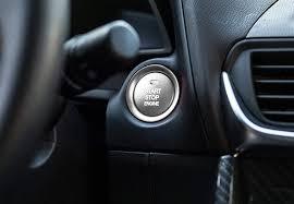 Mazda Start Button Car Interior Decoration Accessories Ijdmtoy Com