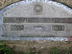 """Adaline """"Addie"""" Dean Davis (1855-1920) - Find A Grave Memorial"""