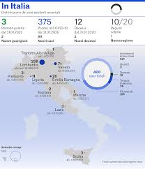 Emergenza Coronavirus in Italia, 400 casi accertati