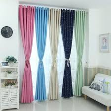 Modern Stars Blackout Curtains Kids Bedroom Curtain For Living Room El Home Decor