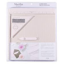 Martha Stewart Crafts Scoring Board Tool For Making Cards 12 X 12