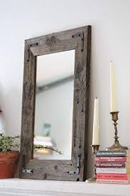 com rustic wall mirror wall