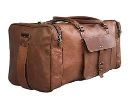 top 10 best leather duffel bags for men