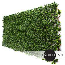 Gardenia Leaf Trellis 4 Pack Bamboo Greenery Panel Artificial Hedge Outdoor Artificial Plant Great Boxwood And Ivy Fence Substitute Diy Flexible Fencing Walmart Com Walmart Com