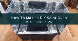 how to make a diy solar oven scp survival