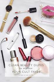clean beauty dupes to replace your cult