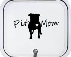 Pit Bull Mama Pitbull Decal Sticker For Car Window 7 50 Inch Bg 136