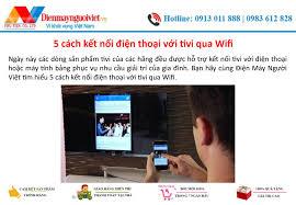 5 cách kết nối điện thoại với tivi qua Wifi by phamngoctien78 - issuu