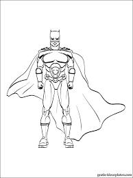 Print Een Kleurplaat Van Batman Gratis Kleurplaten